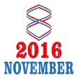 US Election Day Concept vector image
