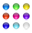 Color round buttons vector image