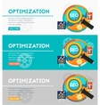 Optimization Concept vector image