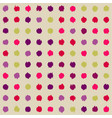 background with spots arranged orderly vector image