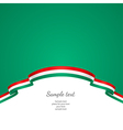 flag background Hungary vector image