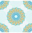Seamless pattern with abstract elements vector image
