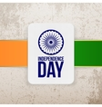 India Independence Day Holiday Badge Template vector image
