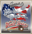 All american league vector image vector image