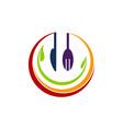 health food restaurant vector image