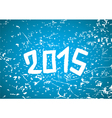2015 year background vector image