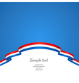 flag background Netherlands vector image vector image