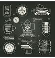 Vintage retro Restaurant Cafe logo Design vector image