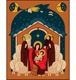 Adoration of the Magi vector image