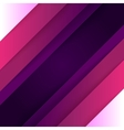 Abstract purple and violet paper triangle shapes vector image
