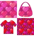 Valentine Seamless Patterns vector image vector image