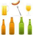 beer 10 vector image