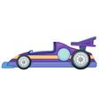 a purple car vector image