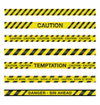 Spiritual Police Caution Tape vector image