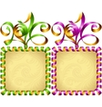 New Year 2016 square frame set vector image