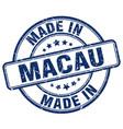made in macau vector image