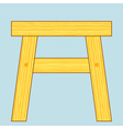 Stool vector image vector image