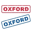 Oxford Rubber Stamps vector image