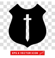 Guard Shield Eps Icon vector image