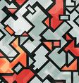 technology seamless pattern vector image