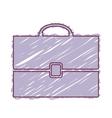 business briefcase icon vector image