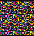 colorful drops seamless background vector image