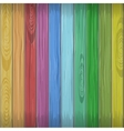 Rainbow colors wooden plane texture vector image