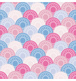 Seamless background from multi-colored circles vector image