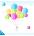 Bright balloons vector image