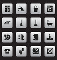 set of 16 editable hygiene icons includes symbols vector image