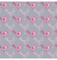 Seamless texture with birds vector image