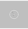 Clock computer symbol vector image