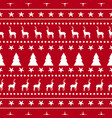 christmas holiday ornament decoration background vector image