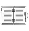 binder vector image