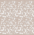 pattern of decorative ornament vector image