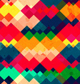 rainbow zigzag seamless texture with grunge effect vector image