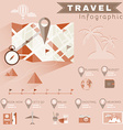 Travel Planning Infographics vector image