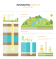 energy infographic vector image