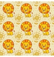 Funny seamless pattern with vector image