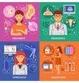 Pregnancy icons set vector image