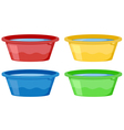 Water tubs vector image vector image