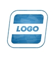 abstract rounded logo vector image