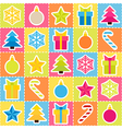 Multicolored holiday background Seamless pattern vector image