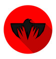 Crow icon vector image