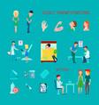 sexual health diseases icon set vector image