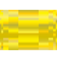 Yellow metal a background vector image