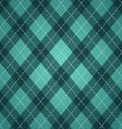st patricks days rhombic pattern vector image