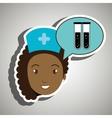 nurse medical services health vector image