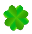 Four-leaf Green Clover vector image