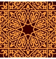 Arabic and islamic seamless ornament vector image